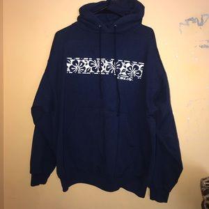 Champion Shirts - Hawaiian flower print CSUN hoodie champion